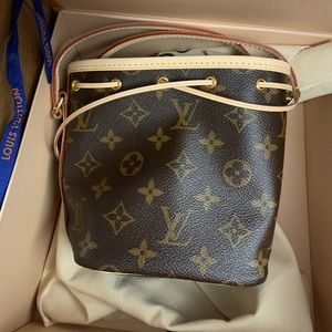 Louis Vuitton Nano monogram bag tote mini new 2019